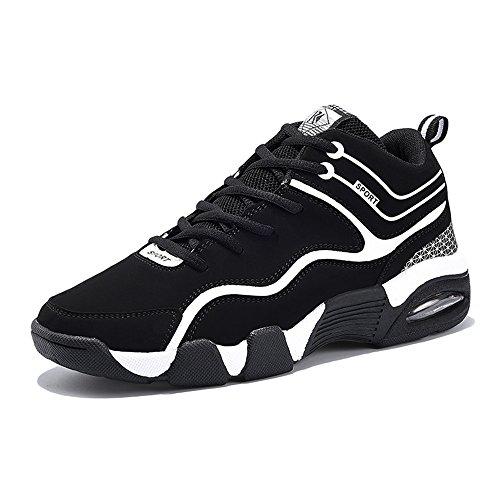 JIANXI バスケットシューズ ランニングシューズ メンズ ジュニアバッシュ ファイヤーショット バスケットボールシューズ ハイカットスニーカー レディース 軽い 靴 男女通用