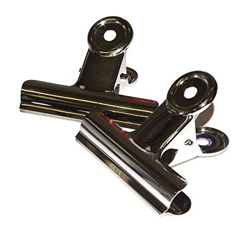 Zip/Clip in metallo cromato da 31mm (confezione da 10) ZLC31