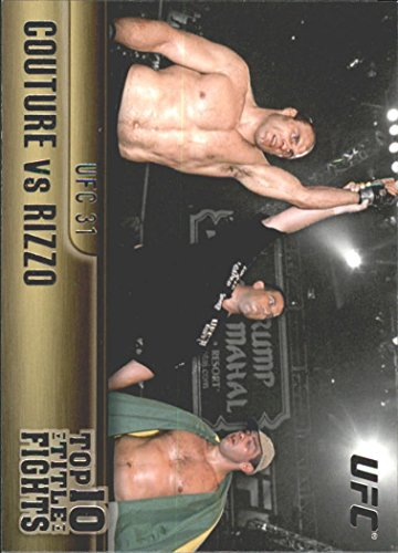2011 Topps UFC Title Shot Top 10 Title Fights #TT9 Randy Couture Pedro Rizzo
