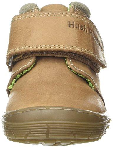 Hush Puppies Archie, Zapatillas de Entrenamiento Para Niños Marrón (Tan)
