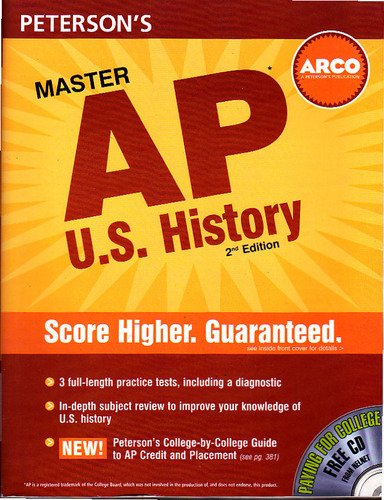 Peterson's Master the AP U.S. History [With CDROM]