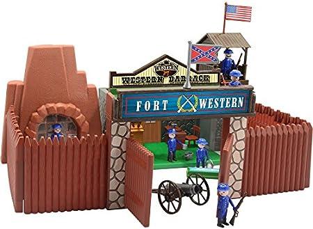 DQTOYS Fuerte Western 35x16x35cm