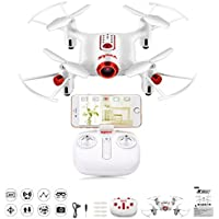 Amazingbuy - SYMA X20W 2.4G 0.3MP Camera Selfie Drone Wifi FPV Altitude Hold RC Drone Quadcopter Aircraft Gifts (White)