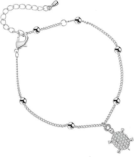 Argent Or Bracelet De Cheville Femmes Bracelet Réglable Chaîne Foot Beach Bijoux