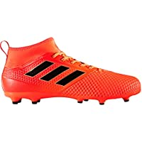 adidas Men's Ace 17.1 FG Soccer Cleats (SZ. 7) Solar Orange, Black