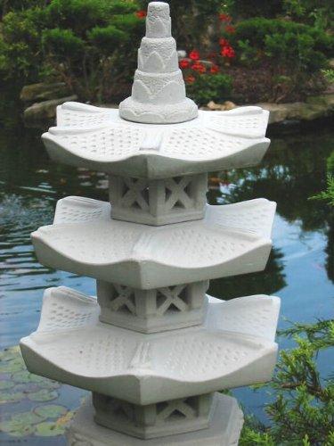 Japanische Steinlaterne 3er G