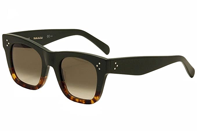 Celine Gafas de sol 41089 Tortoise/Black/Brown gradient AG8 ...