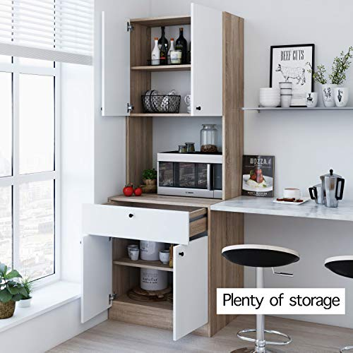 Living Skog Kitchen Storage Cabinets Kitchen Cabinet With Storage Shelves And Microwave Stand Pantry Cabinet Kitchen China Cabinet Kitchen And Pantry Hutch Cabinet Pricepulse