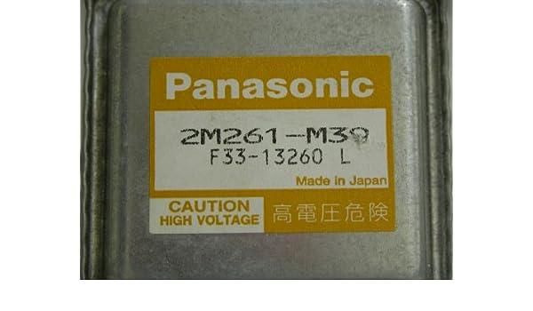 Magnetron microondas universal número de pieza: Panasonic 2 ...