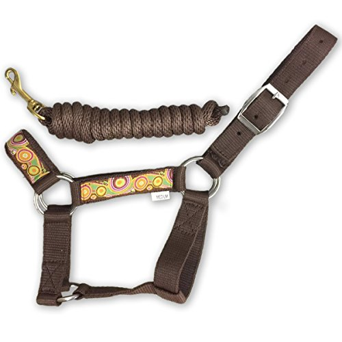 - HalterUp Miniature Donkey Halters and Lead Ropes (2 Item Bundle) Available in 10 Colors (Brown, Medium)
