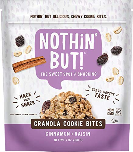 Granola Crunch Cinnamon (Nothin' But Crunch Granola Cookies, Cinnamon Raisin, 7 Ounce)