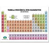 Tabela Periódica Escolar 15 x 21.5 cm + Minitabela x 10 Unidades, Vale das Letras 1040, Multicor, Pacote de 1 - 8576612658