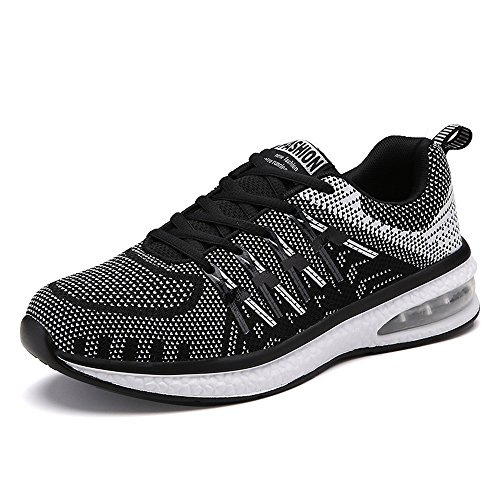 Running Gimnasia Cordones Negro Zapatos Azul Plano 45 Color Fitness Zapatillas Sneakers Mixto negro Naranja Air Unisex 36 Rosado Deportivos Deportiva wIdxYnO