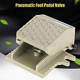 PT 1/4 2 Way 2 Position Threaded Foot Press Control Air Pneumatic Pedal Valve