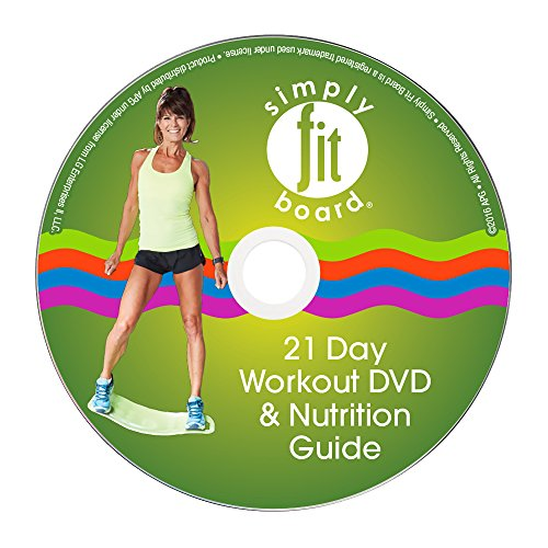 Simply Fit Board - 21 Day Challenge Workout Kit (1 Workout to...