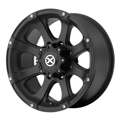 ATX Series AX188 Ledge Black Textured Wheel (17×8″/5x127mm, 0mm offset)