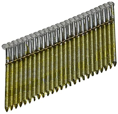 BOSTITCH S8DRGAL-FH 28 Degree 2-3/8-Inch by .120-Inch Wire Weld Galvanized Ringshank Framing Nails (2,000 per Box) by Bostitch
