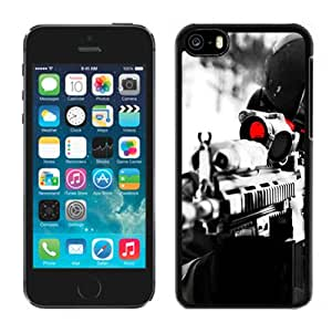 Fashion DIY Custom Designed iPhone 5C Generation Phone Case For Night Vision Rifle Phone Case Cover