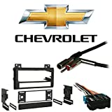 Fits Chevy S-10 Pickup 94-97 Single DIN Stereo Harness Radio Install Dash Kit