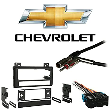 Amazon fits chevy s 10 pickup 94 97 single din stereo harness fits chevy s 10 pickup 94 97 single din stereo harness radio install dash sciox Choice Image