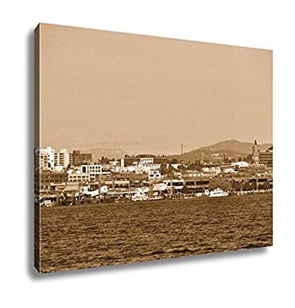 amazon com ashley canvas part of seattle skyline wall art home