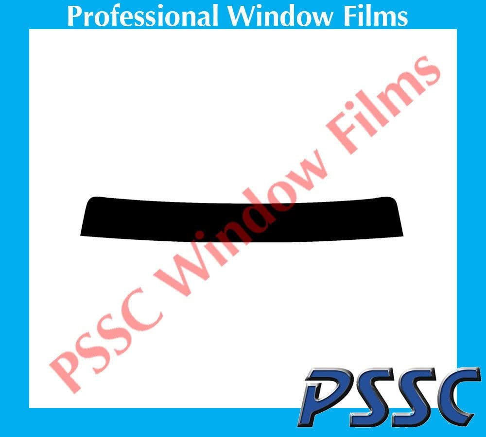 PSSC Pre Cut Sun Strip Car Window Films for Ford Ranger EXT Cab 2007 to 2016 05/% Very Dark Limo Tint