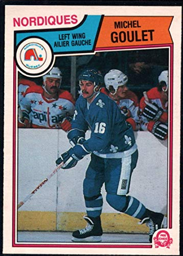 Hockey NHL 1983-84 O-Pee-Chee #292 Michel Goulet Nordiques