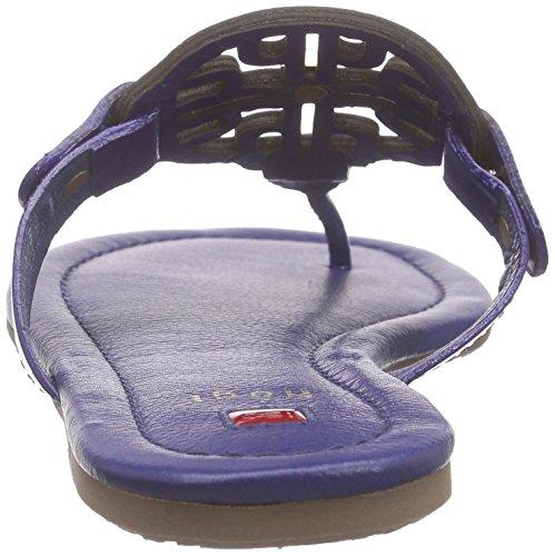 10 de 0904 3100 Sandalias dedo Högl 1 Azul Mujer Blau xHSI5B1