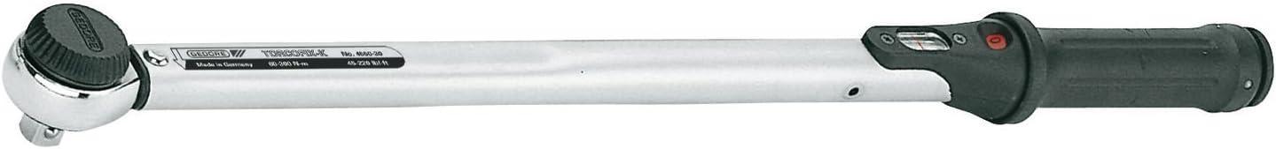 "GEDORE Drehmomentschlüssel 1//2/"" Nr 4550-10 20-100Nm Torcofix-K"