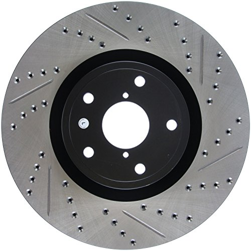 StopTech 127.47022L Sport Drilled/Slotted Brake Rotor (Front Left), 1 Pack (05 Subaru Impreza Wrx Sti For Sale)
