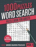 1000 Word Search Puzzle Book for Adults: Big
