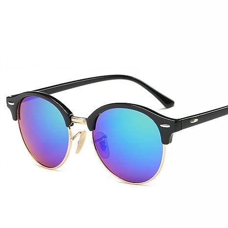 YL LY Gafas de Sol con Gafas Clásicas para Hombre,Do: Amazon ...