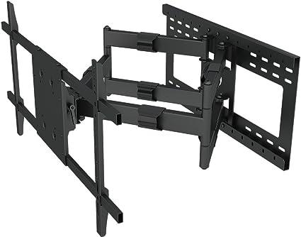Soporte de pared articulado de doble brazo para Samsung LG LED TV 65