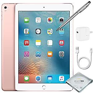 Apple iPad Pro 9.7 Inch Wi-Fi 32GB Rose Gold + Quality Photo Accessories (Latest Apple Tablet) 2016 Model …
