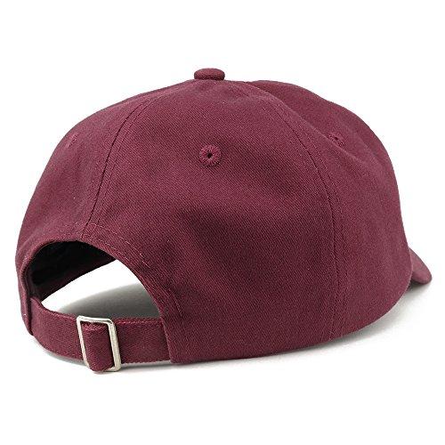 Papi Embroidered Dad Hat Adjustable Cotton Baseball Cap - Maroon