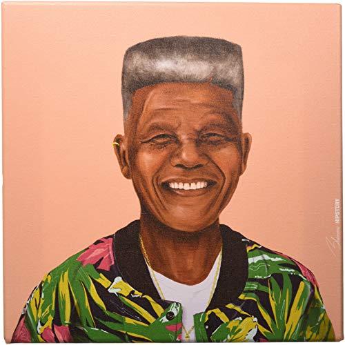 Epic Graffiti Nelson Mandela Giclee Canvas Wall Art, 12