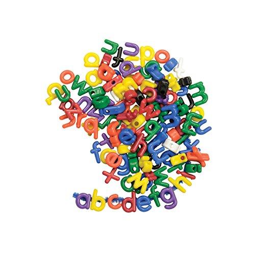 Lowercase Letter Beads (Roylco R-2186 Manuscript Letter Beads of Lowercase, 1.5