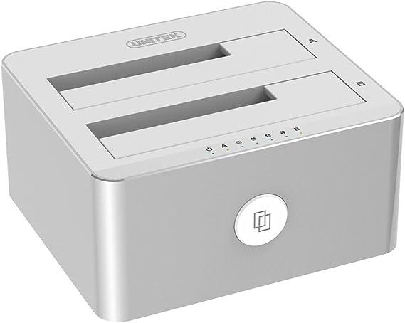 hasta 6/GB USB3.0/Cable con 12/ SATA3/UASP Support agestar USB 3.0/externo estaci/ón de disco duro para 2,5//3,5/pulgadas SSD HDD SATA I//II//III Incluye para PC//Notebook//Mac Fast de funci/ón de copia de seguridad