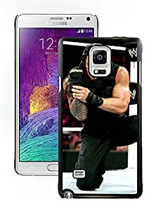 Samsung Galaxy Note 4 Case ,Unique And Fashionable Designed Case With Wwe Superstars Collection Wwe 2k15 Roman Reigns 09 Black For Samsung Galaxy Note 4 Phone Case