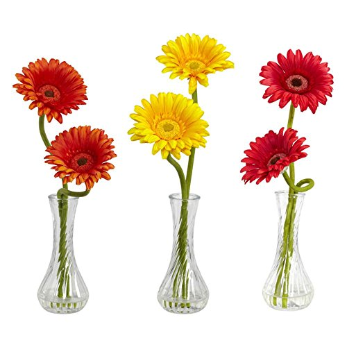 Gerber-Daisy-wBud-Vase-Set-of-3