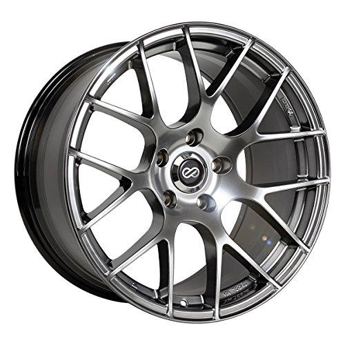 18x8 Enkei Raijin (Hyper Silver) Wheels/Rims 5x114.3 (467-880-6545HS) (Wheels Enkei)