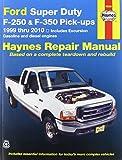 Haynes Ford Super Duty P/U and Excursion (99 - 02) Manual