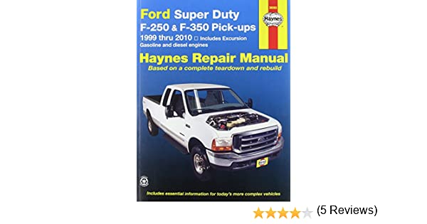 Haynes ford super duty pu and excursion 99 02 manual haynes ford super duty pu and excursion 99 02 manual manufacturer 0038345360602 amazon books fandeluxe
