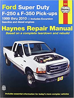 Haynes ford super duty pu and excursion 99 02 manual haynes ford super duty pu and excursion 99 02 manual manufacturer 0038345360602 amazon books fandeluxe Gallery