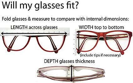 Funda para gafas con dise/ño de unicornio verde GoOpticians