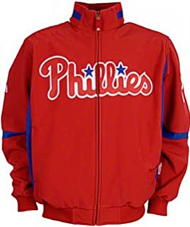 acea06e413f Majestic Philadelphia Phillies Authentic Therma Base Premier Jacket Big And  Tall Sizes