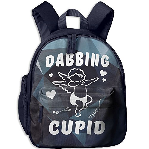 Dabbing Cupid Hot Sale Child Shoulder School Bag School Backpack Satchel For Teens Boys Girls Students Navy