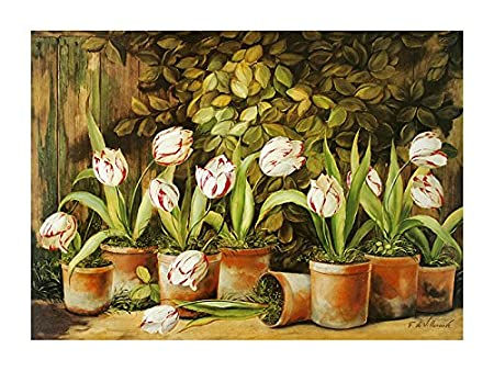 Fabrice de Villeneuve Poster Art Print \'A Tulips\'Set OF Dozen \'Tulip ...