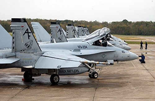 18a Hornet (Home Comforts Five F/A-18A+ Hornets assigned to The River Rattlers Strike Fighter Squadron Two Zero Four (VFA-)