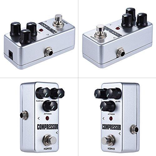 ammoon kokko fcp2 mini compressor pedal portable guitar effect pedal bassist hq. Black Bedroom Furniture Sets. Home Design Ideas